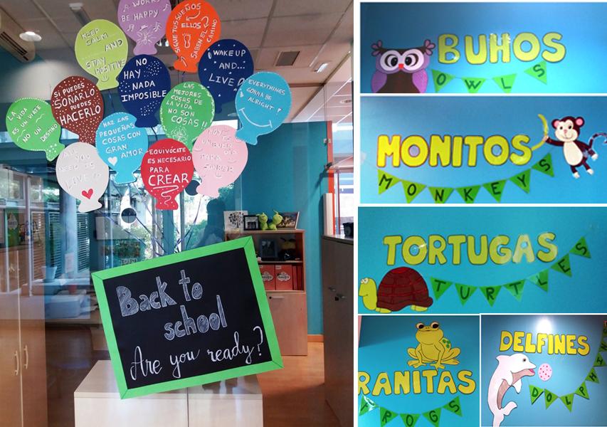 Decoraci n escuelas infantiles kidsco - Curso decoracion de interiores madrid ...