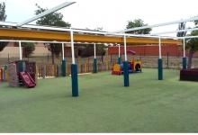 Escuela Infantil Kidsco Zaragoza Patio Exterior