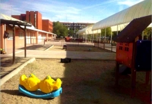 Escuela Infantil Fábulas y Leyendas Móstoles - Patio.