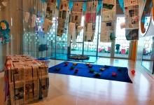 Instalación de Papel en Aula de Bebés